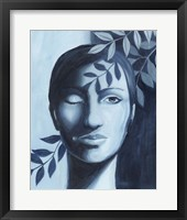 Winking Shadow II Framed Print