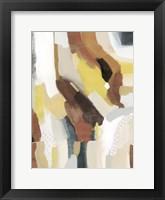 Mud and Daisies I Framed Print