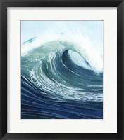 Sea Foam I Framed Print