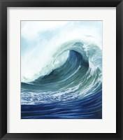 Sea Foam II Framed Print