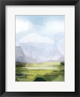 Verdant Vale I Framed Print