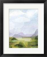 Verdant Vale II Framed Print