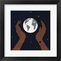 Dear Mother Earth I Framed Print