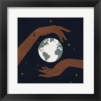 Dear Mother Earth II Framed Print