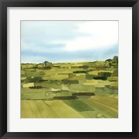 Green Gold Valley II Framed Print