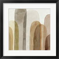 Desert Watercolor Arches II Framed Print