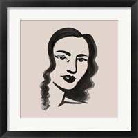 Mona I Framed Print