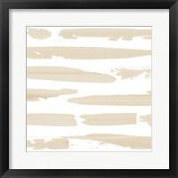 Sand Swipe I Framed Print