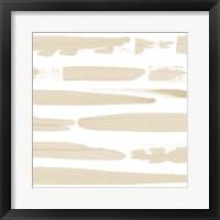 Sand Swipe II Framed Print