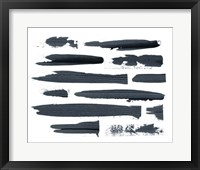 Scrape II Framed Print