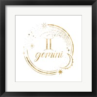 Framed Gilded Astrology III
