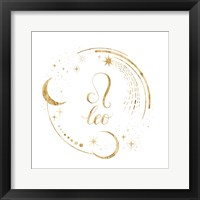 Gilded Astrology V Framed Print