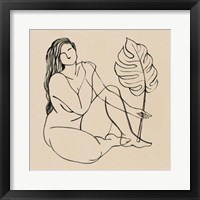 Framed Femme Figure III