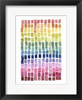 Under the Rainbow II Framed Print
