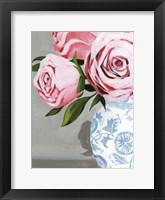 Autumnal Roses I Framed Print