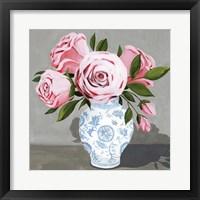 Autumnal Roses III Framed Print