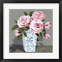 Autumnal Roses IV Framed Print