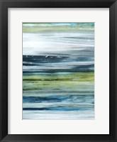 Beryl Swipe I Framed Print