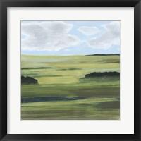 Halcyon Valley I Framed Print
