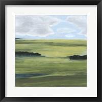 Halcyon Valley II Framed Print