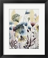Watercolor Wildflower I Framed Print