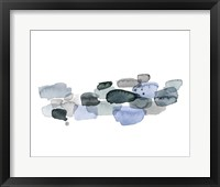 River Droplets I Framed Print
