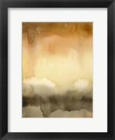 Sunset Windowpane II Framed Print