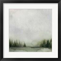 Timberline I Framed Print