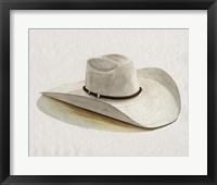Framed Cowboy Hat II