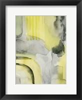 Lemon & Grit I Framed Print
