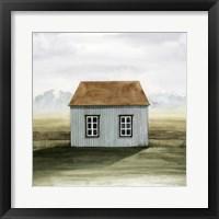 Framed Nordic Cottage I