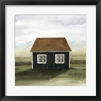 Framed Nordic Cottage II