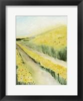 Gilded Aisles II Framed Print