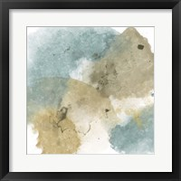 Fading Pieces I Framed Print