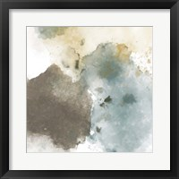 Fading Pieces II Framed Print