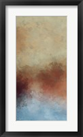 Cooling Warmth II Framed Print