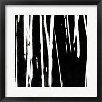 Streaking Paths II Framed Print