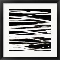 Streaking Paths IV Framed Print