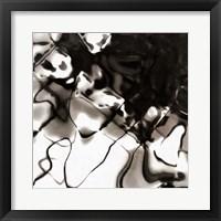 Shimmering Glow II Framed Print