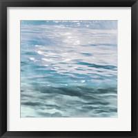Framed Shimmering Waters I