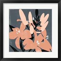 Mod Lilies II Framed Print