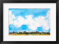 Sky's the Limit I Framed Print