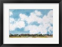 Sky's the Limit II Framed Print
