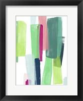 Paper Chase I Framed Print