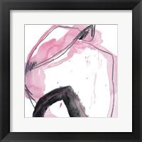 Salon Rouge IX Framed Print