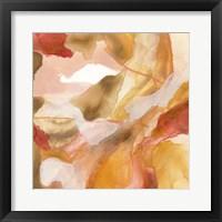 Sunset Marble II Framed Print