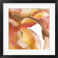 Sunset Marble III Framed Print
