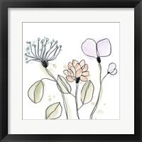 Spindle Blossoms VIII Framed Print