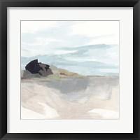 Glacial Coast I Framed Print
