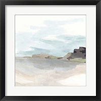 Glacial Coast II Framed Print